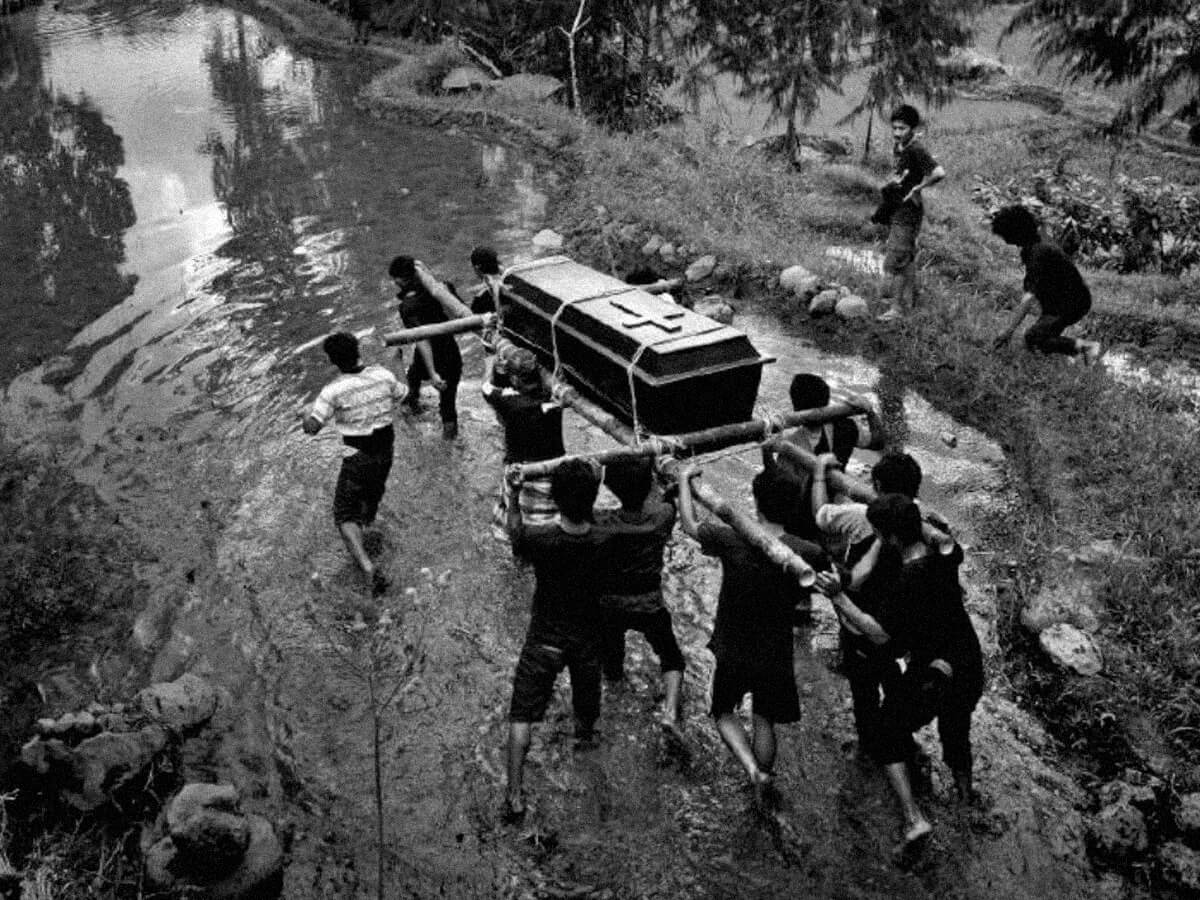 La muerte navega por la ciudad